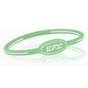 EFXリストバンドオーバル Green&White