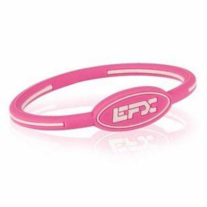 EFXリストバンドオーバル Pink&White