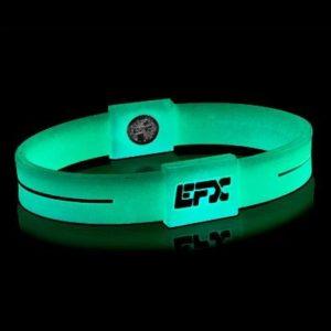 EFXリストバンドスポーツ Green&White Glow